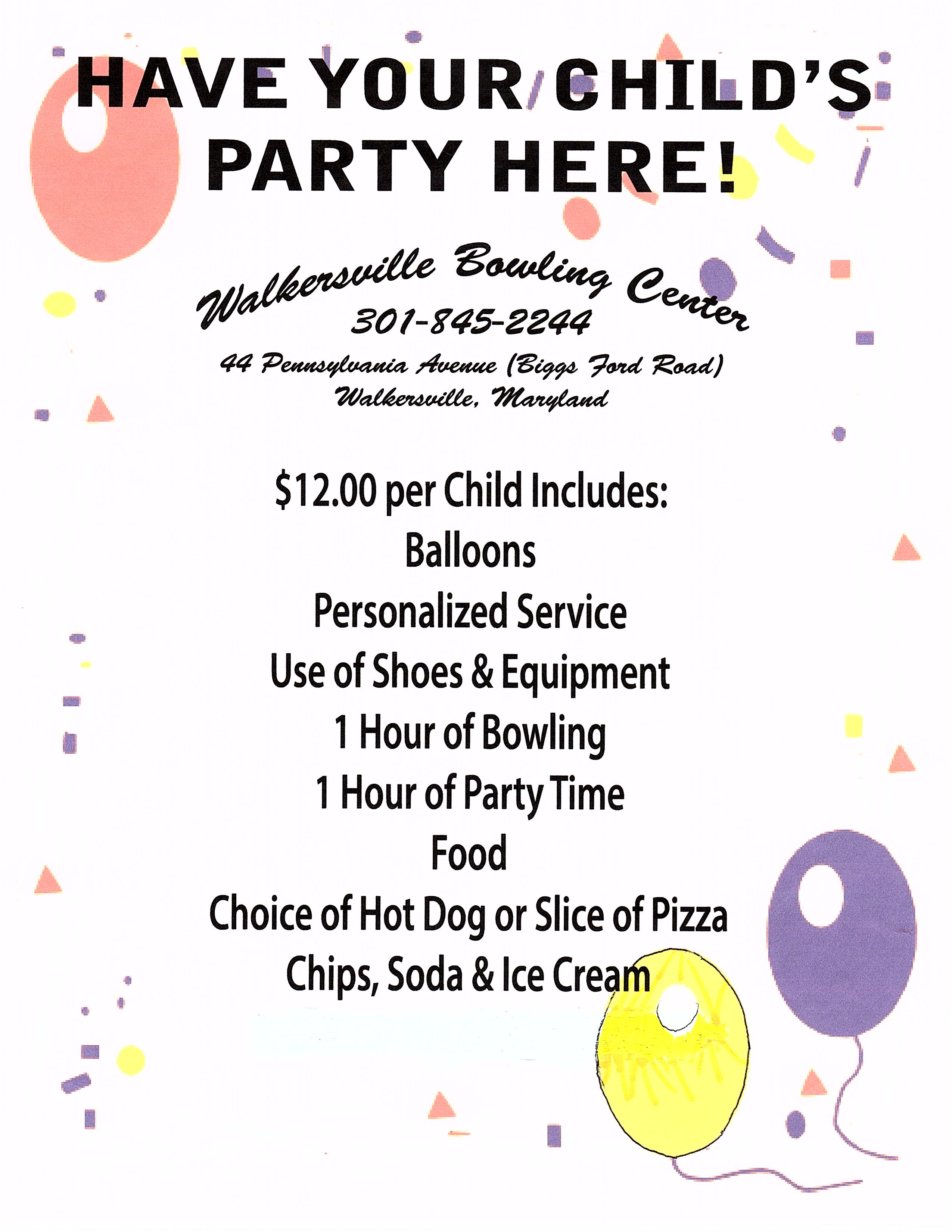 Birthday Party Ideas | Kids Parties | Packages | Frederick MD